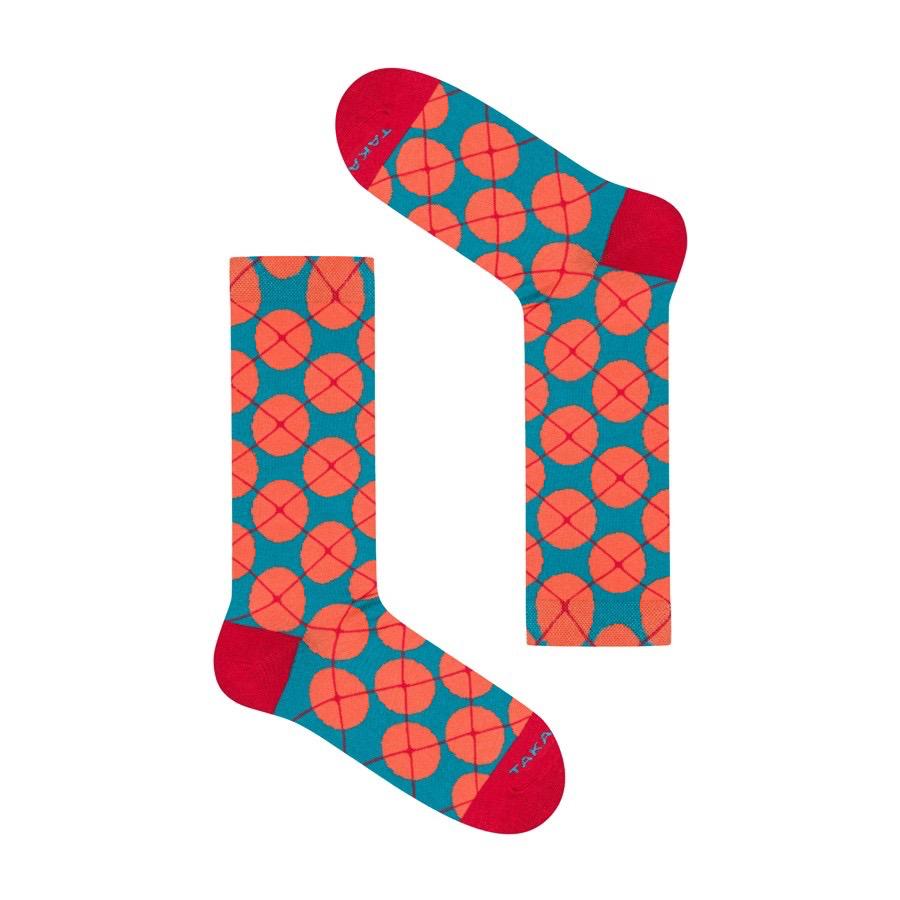 Takapara värikkäät sukat U7M1