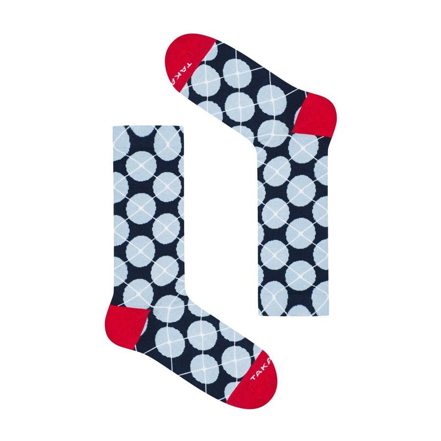 Takapara värikkäät sukat U7M3