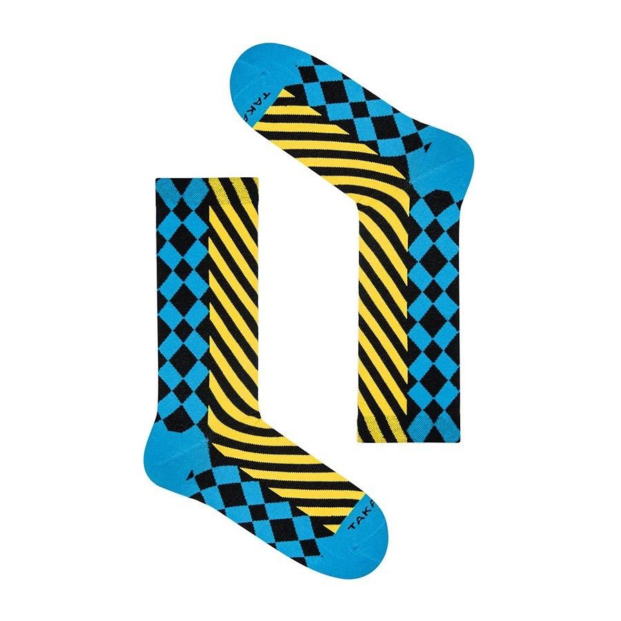 Takapara värikkäät sukat U10M1