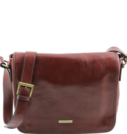 Tuscany Leather TL Messenger ruskea