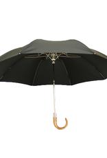 Ince Umbrellas sateenvarjo musta kokoontaittuva vaahtera