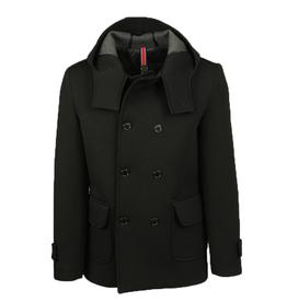 Musta takki hupulla⎪Nous