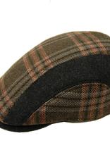 Bojua flat cap ruudullinen