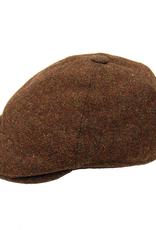 Bojua flat cap ruskea