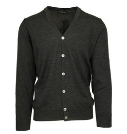 Malagrida neuletakki harmaa 100% virgin wool