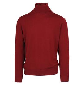 Malagrida neulepaita poolokaulus punainen 100% virgin wool