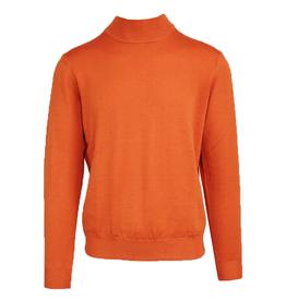 Oranssi neulepaita turtlekaulus ⎪Malagrida