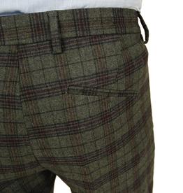 Exibit Grandi housut vihreä ruudullinen