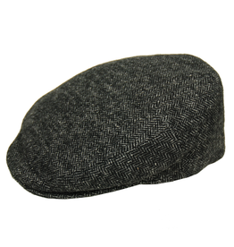 Harmaa flat cap kalanruotokuvio⎪Bojua