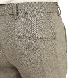 Harmaat housut kalanruotokuviolla⎪Exibit