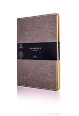 Castelli Italy muistikirja Harris ruskea