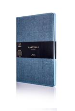 Castelli Italy muistikirja Harris liuskekivi sininen