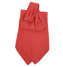 Bojua Paliano punainen ascot-huivi
