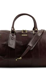 Tuscany Leather TL Voyager nahkalaukku tummanruskea