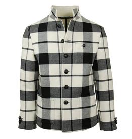 Reykjavik District Ringo takki Musta/Valkoinen ruudullinen
