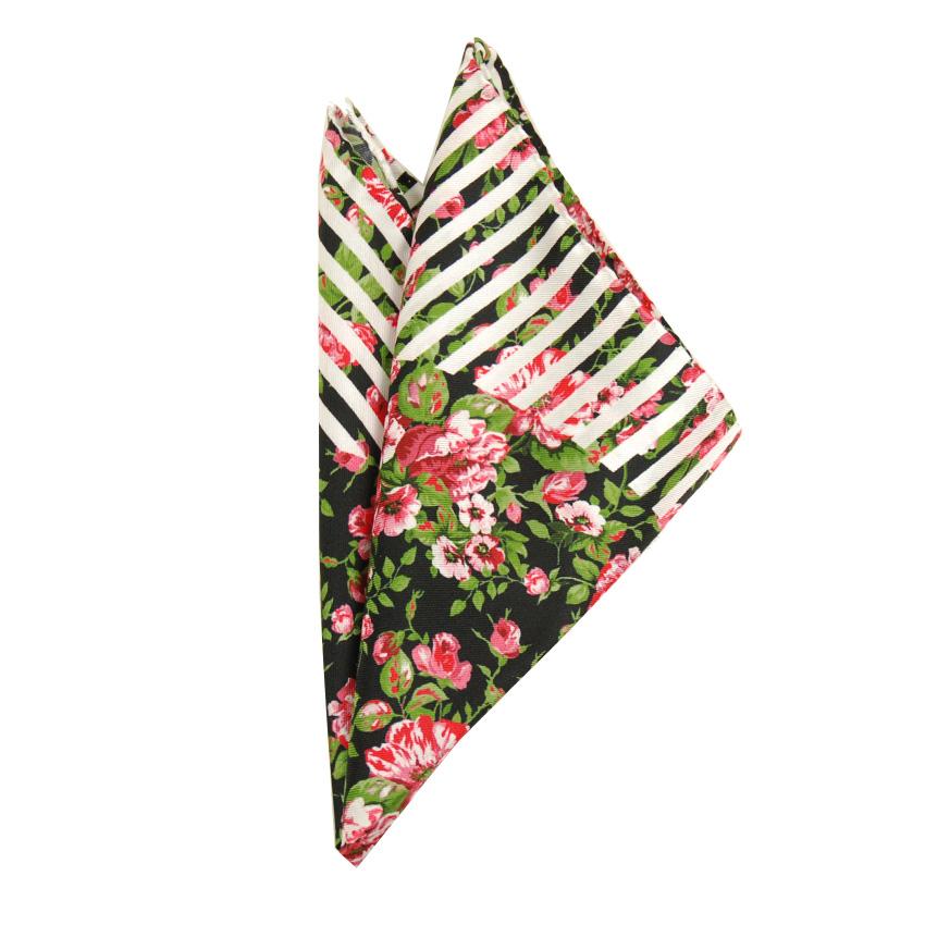 Bojua taskuliina kukkakuviolla