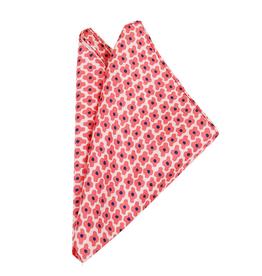 Bojua Bovino taskuliina punainen kuvioitu