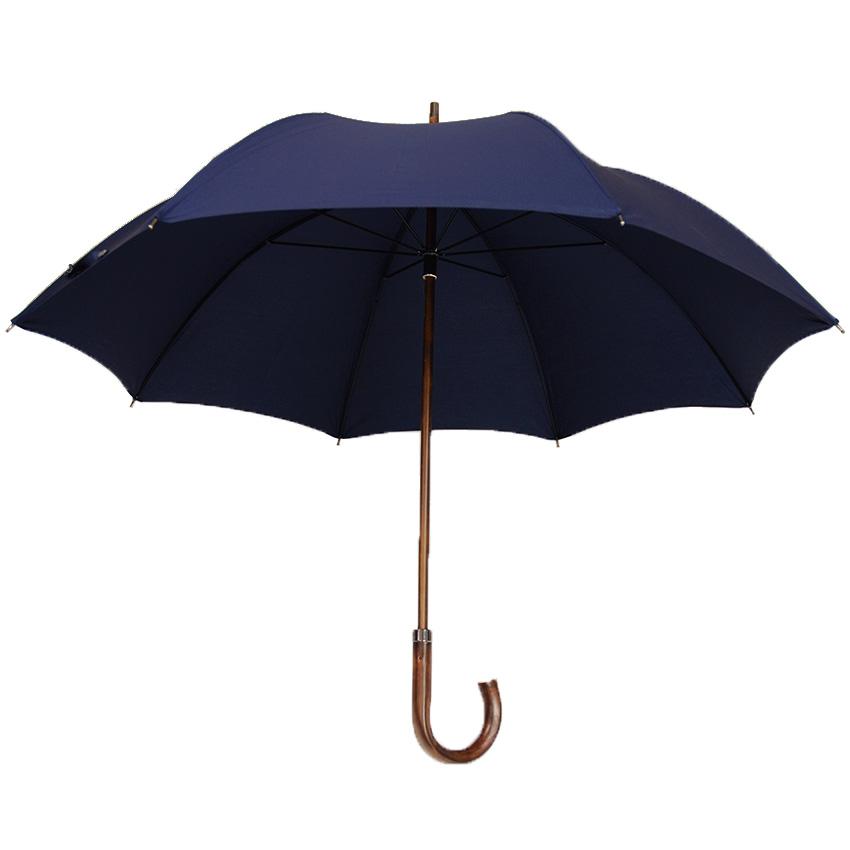 Ince Umbrellas sateenvarjo sininen kastanja varrella