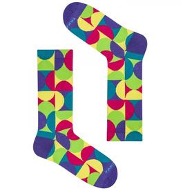 Värikkäät sukat U8M1⎪Takapara