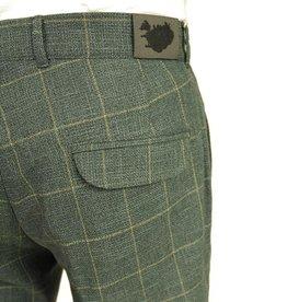 Vihreät ruudulliset Turn-Up housut ⎪Reykjavik District