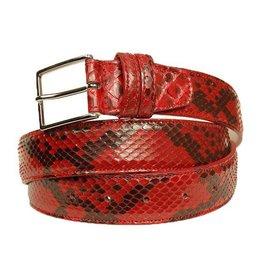 Punainen python vyö⎪Bochicchio Cinture