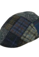 Sininen flat cap pachwork⎪Bojua