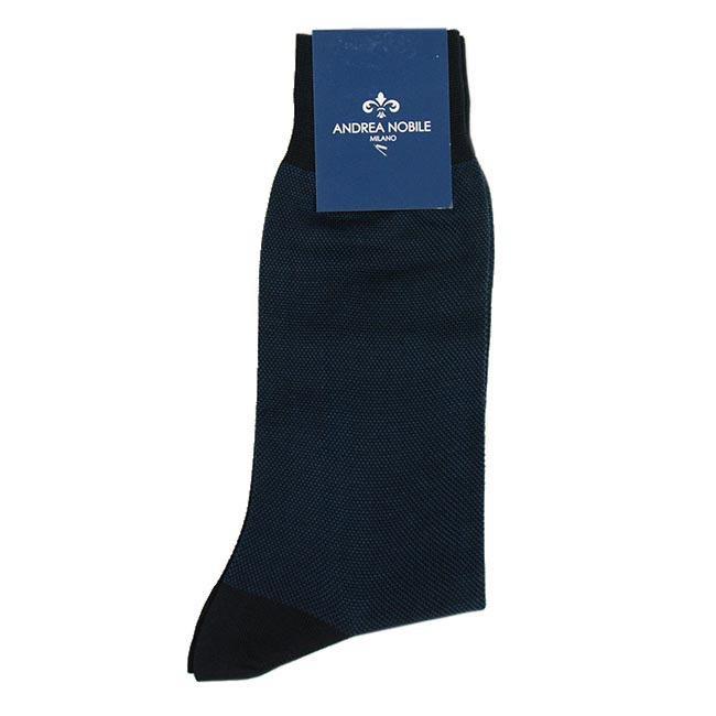 Siniset sukat 100% Egyptiläistä puuvillaa⎪Andrea Nobile