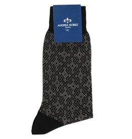 Mustat sukat 100% Egyptiläistä puuvillaa⎪Andrea Nobile