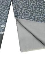 Paisley kuviollinen silkkihuivi villavuorilla⎪Bojua