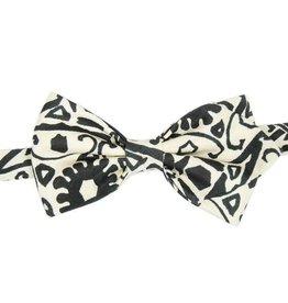 Mustavalkoinen rusetti⎪Papillon Miró
