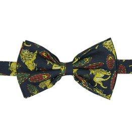 Tummansininen silkkirusetti⎪Papillon Miró