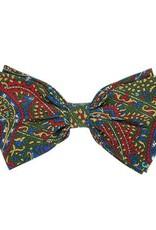 Värikäs kuvioitu silkkirusetti⎪Papillon Miró