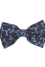 Sininen rusetti paisley kuviolla⎪Papillon Miró