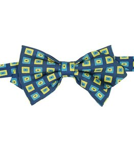Sininen silkkirusetti⎪Papillon Miró