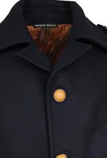Tummansininen villakangastakki Redford⎪Reykjavik District