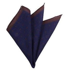 Tummansiniinen taskuliina villaa⎪DMties