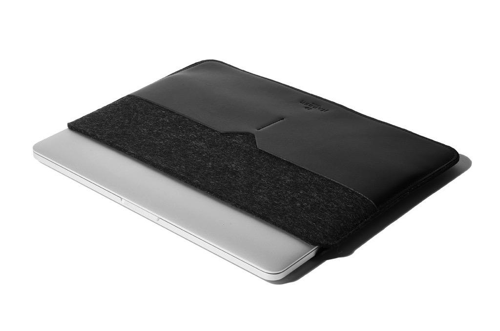 "MacBook 12"" suoja musta⎪Harber London"
