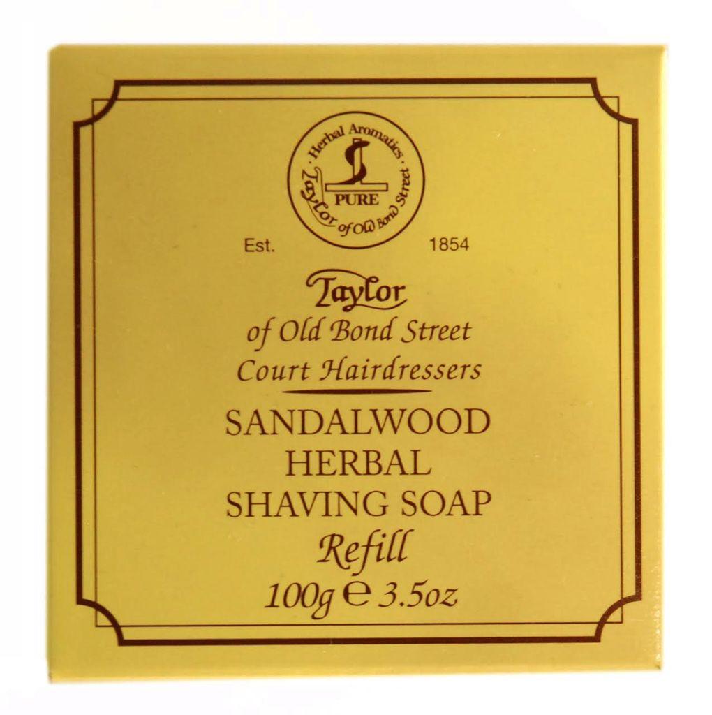 Taylor Of Old Bond Street Santelipuu parranajosaippua 100g