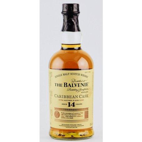 Balvenie 14 Year Old Caribbean Cask, 43%