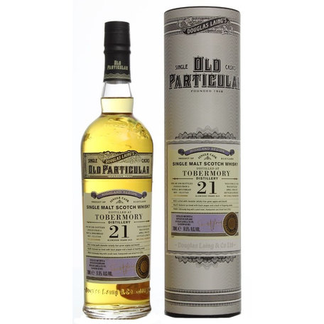 Tobermory 21 Year Old, Old Particular, 1996, 51.5%
