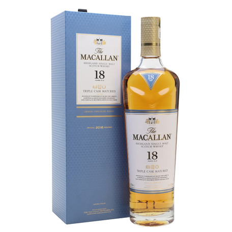Macallan 18yr Triple Cask, 43%