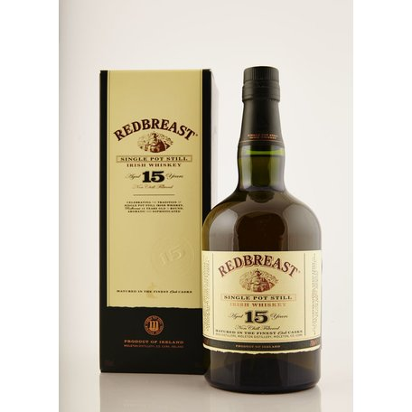 Redbreast 15 year Old, 46%
