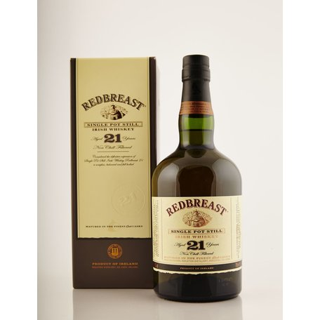 Redbreast 21 Year Old, 46%