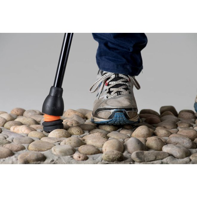 Flexibele dop  wandelstok