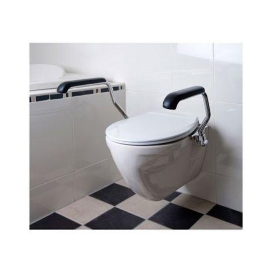 Jadacare Jadaset toiletbeugel voor toiletverhoger 5 cm opklapbaar