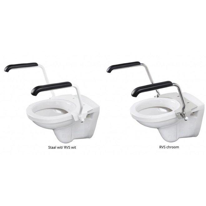 Jadaset toiletbeugel voor toiletverhoger 5 cm opklapbaar
