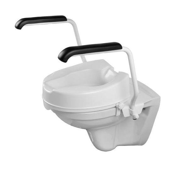 Jadacare Jadaset toiletbeugel voor toiletverhoger 10 cm opklapbaar