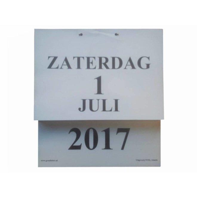 Dag kalender A4
