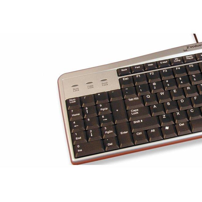 Evoluent toetsenbord ergonomisch/linkshandig
