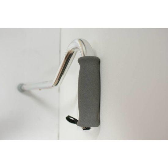 Premis Wandelstok  offset aluminium verchroomd